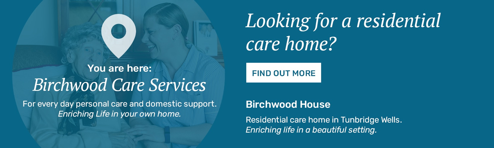 Residential Care Home in Tunbridge Wells
